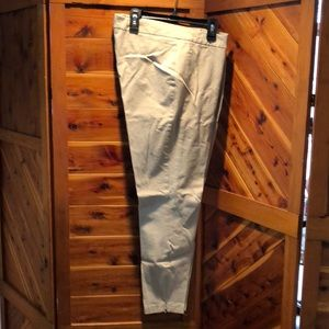 Chico's size 2 Beige Stretch pants easy care